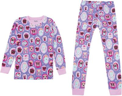 Пижама Hatley для девочки - сиреневый