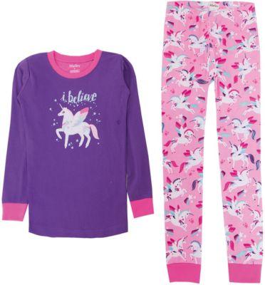 Пижама Hatley для девочки - фиолетовый