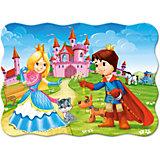 Пазл Принц и принцесса, 30 деталей (MIDI)Castor land