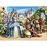 Пазл Принцесса и рыцарь, 300 деталей, Castor Land