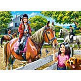 Пазл Верховая езда, 300 деталей, Castor Land
