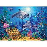 Пазл Семья дельфинов, 300 деталей, Castor Land