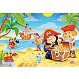Пазл Пиратские сокровища, 40 деталей MAXI Castor Land