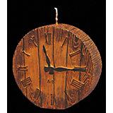 Свеча Часики деревянные 9 см
