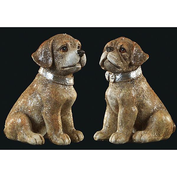 Сувенир Пес в ошейнике 11 см