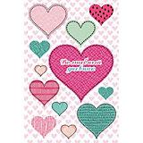 """Волшебный дневник Fenix Plus """"Цветные сердечки"""""""