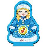 """Музыкальная игрушка Азбукварик """"Новогодние игрушки"""" Снегурочка"""