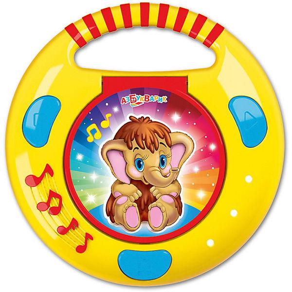 CD-Плеер с огоньками Азбукварик Песенки и сказки