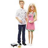 """Набор кукол Barbie """"Барби и Кен-шеф повар"""""""