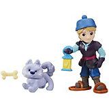 """Мини-кукла Hasbro Холодное сердце """"Маленькое королевство"""" Кристоф с волком"""