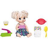 """Интерактивная кукла Hasbro Baby Flive """"Малышка и лапша"""""""