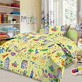 Детское постельное белье 3 предмета Letto, простыня на резинке, BGR-39