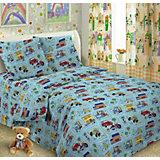 Детское постельное белье 3 предмета Letto, простыня на резинке, BGR-32