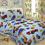 Детское постельное белье 1,5 сп Letto Игрушки