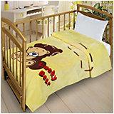 Плед Letto Велсофт-беби в кроватку VB23, 110х140 см.