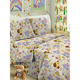 Детское постельное белье 3 предмета Letto, простыня на резинке, BGR-54
