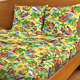 Детское постельное белье 3 предмета Letto, простыня на резинке, BGR-46