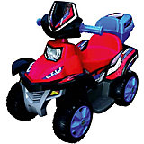 """Электроквадроцикл Bugati """"Power"""", красно-синий"""