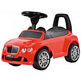 """Машина-каталка Bugati """"Bentley"""", красная"""