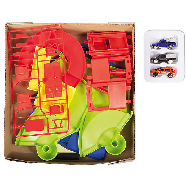 "Игровой набор Guang Wei ""Парковка: Техстанция"""