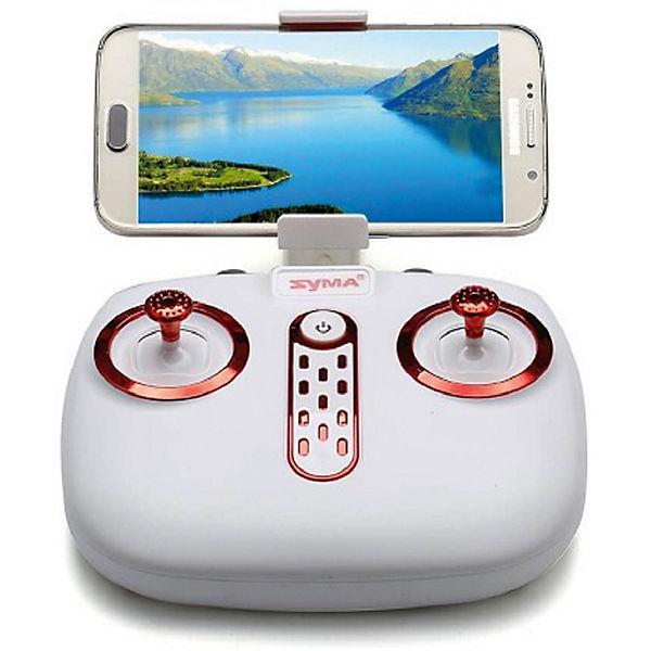 Квадрокоптер с WiFi камерой  SYMA X21W голубой
