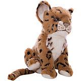 Мягкая игрушка Hansa Детеныш ягуара, 17 см (коричневый)