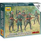 Сборная модель  Немецкая кадровая пехота