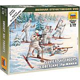 Сборная модель  Советские лыжники