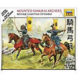 Сборная модель  Конные самураи-лучники