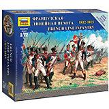 Сборная модель  Французская линейная пехота