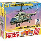 """Сборная модель  Вертолет """"Ми-8МТ"""""""