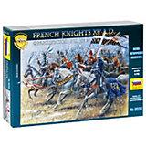 Сборная модель  Французские рыцари XVв