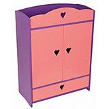"""Мебель для куклы Краснокамская игрушка """"Шкафчик с выдвижным ящиком"""""""
