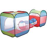 Игровой комплекс Shantou Gepai 2 палатки с тоннелем