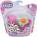 Мини-кукла Toy Shock с цветочками для волос (розовая)