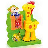 """Развивающая игрушка Mioshi """"Жираф"""" с шариками"""