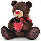 Мягкая игрушка Orange Медведь Choco с сердцем, 20 см (мальчик)