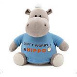 Мягкая игрушка Orange Бегемот Be Hippo, 30 см