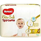 Трусики-подгузники Huggies Elite Soft M (3), 6-11 кг., 25 шт.