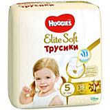 Трусики-подгузники Huggies Elite Soft XL (5), 12-17 кг., 19 шт.