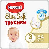 Трусики-подгузники Huggies Elite Soft M (3), 6-11 кг., 54 шт.