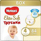 Трусики-подгузники Huggies Elite Soft 4, 9-14 кг, 84 шт.