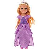 """Кукла Карапуз """"Принцесса"""" в фиолетовом, 38 см (звук)"""