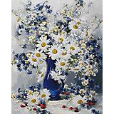 """Раскраска по номерам Белоснежка """"Любимые цветы"""", 40х50 см"""