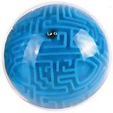 Головоломка шар-лабиринт (синий)