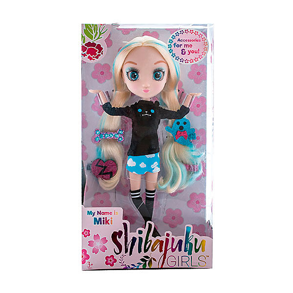 "Кукла Hunter Products ""Shibajuku Girls"" Мики, 33 см"