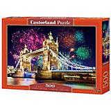 """Пазл Castorland """"Тауэрский мост, Англия"""" 500 деталей"""