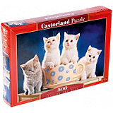 "Пазл Castorland ""4 котенка"" 500 деталей"