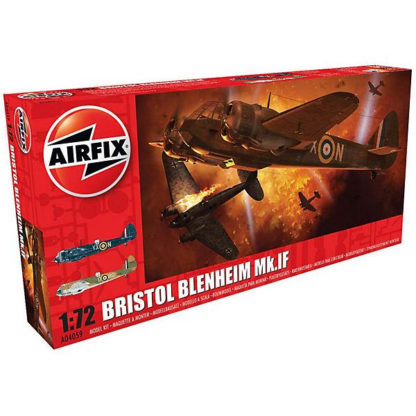 """Сборная модель Airfix """"Самолет Bristol Blenheim Mk.If"""" 1:72"""