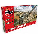 """Сборная модель Airfix """"Бомбардировщик Junkers Ju87 B-1 Stuka"""" 1:48"""